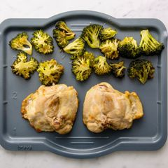 Chicken Thighs & Broccoli