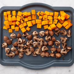 Butternut Squash & Mushrooms