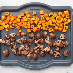 Sweet Potatoes and Mushrooms