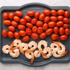 Shrimp & Cherry Tomatoes