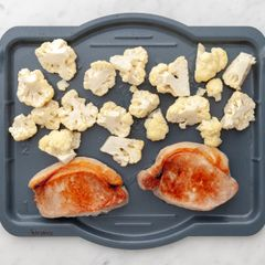 Pork Chops & Cauliflower