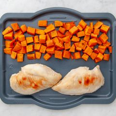 Chicken Breasts & Sweet Potatoes