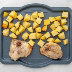 Chicken Thighs & Potatoes