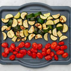 Zucchini and Cherry Tomatoes