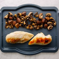 Chicken Breasts & Mushrooms