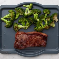 NY Strip Steak & Broccoli