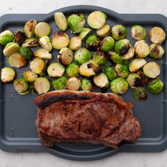 NY Strip Steak & Brussels Sprouts
