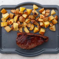 NY Strip Steak & Potatoes