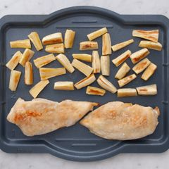 Chicken Breasts & Parsnips