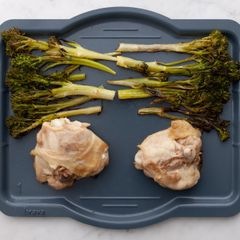Chicken Thighs & Baby Broccoli