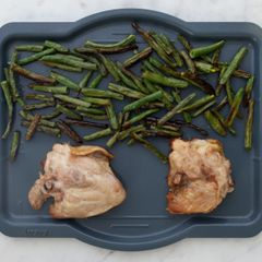 Chicken Thighs & Green Beans