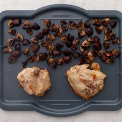 Chicken Thighs & Mushrooms