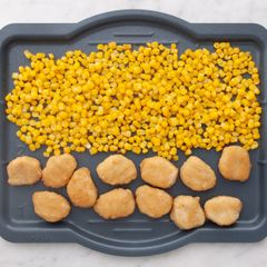 Chicken Nuggets & Frozen Corn