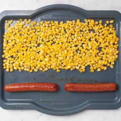 Hot Dogs and Frozen Corn