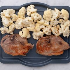 Bone-In Pork Chops & Cauliflower