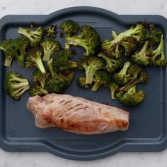 Pork Tenderloin & Broccoli