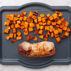 Pork Tenderloin & Sweet Potatoes