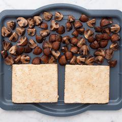 Tofu and Cremini Mushrooms