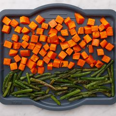 Green Beans and Sweet Potatoes