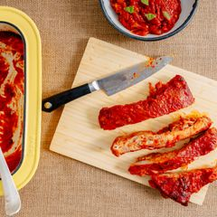 Pork Ribs Arrabiata