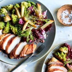 Prosciutto-Wrapped Chicken