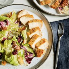 Roasted Chicken & Caesar Salad