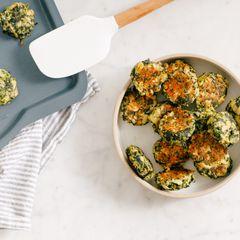 Spinach and Artichoke Bites