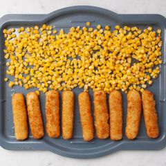 Frozen Fish Sticks and Frozen Corn
