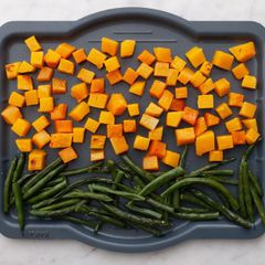 Butternut Squash and Green Beans