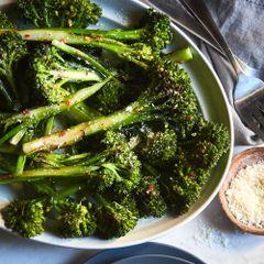 Roasted Baby Broccoli